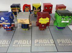 Fiesta de Superhéroes de Marvel / Marvel Superheroes Party