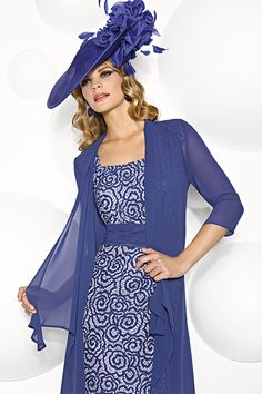 Cabotine short dress and chiffon coat 4993265 - Catherines of Partick