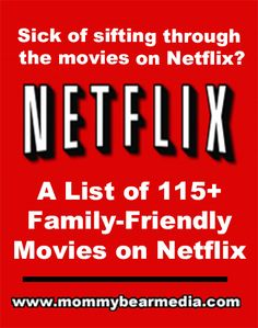 Best Movies on Netflix Instant to Watch Instantly and a Netflix ReviewMommy Bear…