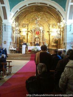 Altar mayor Iglesia Santísimo Cristo de Tabuyo