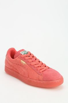 Puma Monochrome Suede Sneaker - Urban Outfitters
