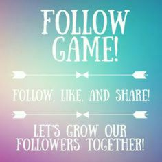 My First Follow Game !! Remember like this post, follow people who like it and don't forget the host ME @jassieboo92, share this post, and tag some friends ! :) Much love to you all in advance !!! <3 Other