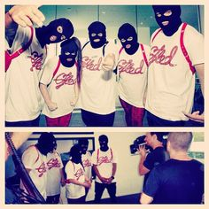 The Gfted Goons Dance Crew 2012 masked.