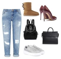 """Untitled #950"" by georgina2610 on Polyvore featuring Miss Selfridge, Puma, Givenchy and UGG"