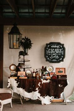 Whiskey, Cigars + Scotch Bar | Photo: Mark Williams Studio