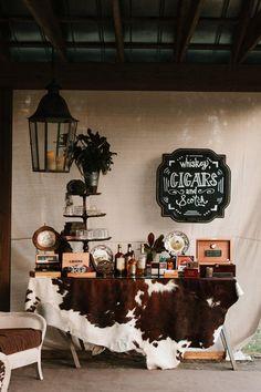 Whiskey, Cigars + Scotch Bar | Photo: Mark Williams Studio