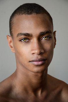 DaJé Barbour. His eyes...incredible.
