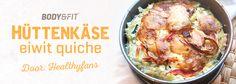 Hüttenkäse quiche | Blog | Body & Fitshop