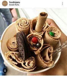 Lúcuma con chocolate    Créditos: @foodinperu