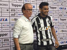 BotafogoDePrimeira: Brenner é apresentado e espera reencontrar bom fut...