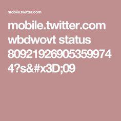 mobile.twitter.com wbdwovt status 809219269053599744?s=09