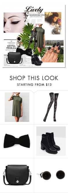 """Marisole Floyd"" by mgtswag-101 ❤ liked on Polyvore featuring Pierre Mantoux, Maison Michel, Zara and rag & bone"