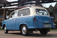 Trabant P50 2K von 1962