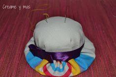 Creame y mas: DIY - Alfiletero sombrero