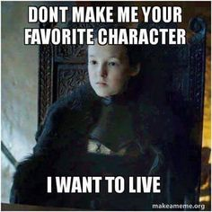 Game of Thrones funny meme. Lyanna