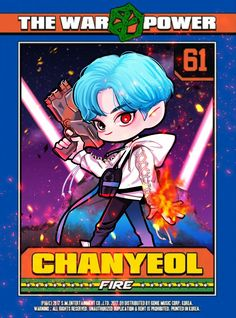 #power #chanyeol #exo