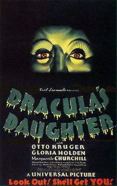 Dracula's Daughter Premiered 11 May 1936