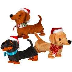Holiday Living�Assorted Animatronic Tabletop Dachshund Indoor Christmas Decoration
