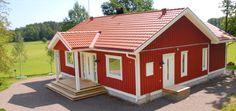 Bygga enplansvilla, 1 plansvilla, 1½ plans villa, två plansvilla & enkelgarage | S:t Anna Hus
