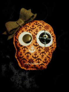 Anchor inspired skull...