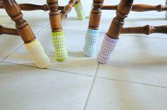 chair socks Tutorial╭⊰✿Teresa Restegui http://www.pinterest.com/teretegui/✿⊱╮