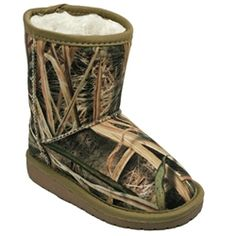 409f48e594e99 Mossy Oak Toddlers' & Kids' Printed Sherpa Boots - Assorted Styles at  Savings off Retail! DAWGS Footwear