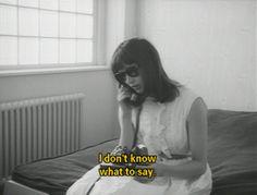 Anna Karina in Le petit soldat, Jean-Luc Godard, 1963