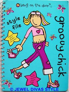 Groovy Chick's Style File - http://jeweldivasstyle.com/book-style-my-treasure-and-goddess-books/