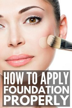 Makeup tutorial foundation flawless face skin how to apply 33 Ideas for 2019 Makeup Tutorial Foundation, Foundation Tips, How To Apply Foundation, Makeup Foundation, Flawless Foundation Tutorials, Foundation Application, Drugstore Foundation, Makeup Application, Make Up Tutorials