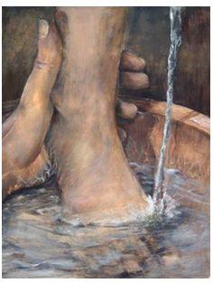 Maundy Thursday foot washing