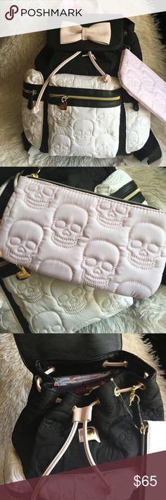 ❤️️Betsey Johnson Skull BackPack❤️️ New Betsey Johnson skull backpacks❤️️😜 FINAL PRICE.❤️ Betsey Johnson Bags Backpacks