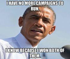 Good one President  Obama !