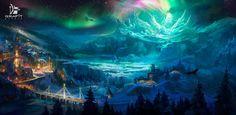 Moonlight Valley by Grafit-art.deviantart.com on @DeviantArt