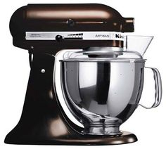 Chocolate Kitchen Aid Artisan Stand Mixer