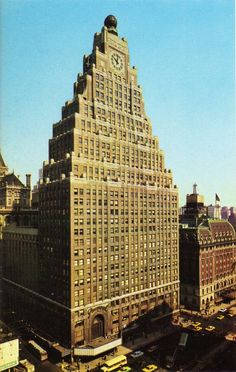 The Paramount Building, Rapp & Rapp, architects, NYC, 1926