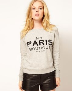 Mango | Mango Paris Boutique Sweat at ASOS