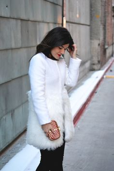 CHICWISH white coat. Winter outfit inspiration. http://rstyle.me/n/bewjmhbhxn7