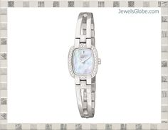 citizen womens watches of all designs silver color