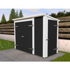 650€ bei Hagebau WEKA Multibox, für 2x240l aus Holz, B/T/H: 205/84/152 cm, Inkl. Regalsystem