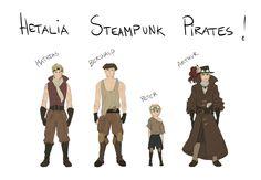 steampunk hetalia - Google Search
