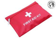 Kit de Primeros Auxilios para Viajeros. Medidas: 20 x 14 cm.