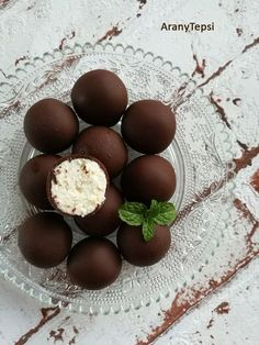 My Recipes, Sweet Recipes, Cookie Recipes, Dessert Recipes, Hungarian Desserts, Hungarian Recipes, Recipes From Heaven, Chocolate Recipes, Easy Desserts