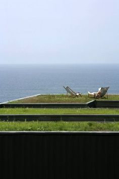 Green roof of the OS House, Spain, by: FRPO Rodriguez & Oriol Architecture Landscape