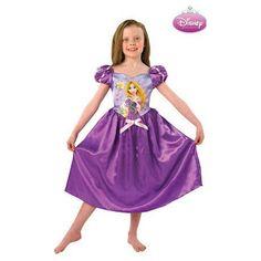#Disfraz de #Princesa #Disney #Rapunzel para #Niña #Enredados