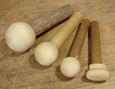 Lowther. Make your own WoodenDappingPunches with door knobs