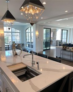 Home Design, Interior Design Trends, Interior Modern, Interior Decorating, Kitchen Interior, Design Expo, Luxury Decor, Farmhouse Plans, Beautiful Kitchens