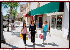 Shop the day away at Main Street in Ventura.  #shopping #venturacounty #downtownventura #vcwest