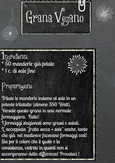 Grana Vegano Vegan-in-Italy   Ricette Veloci