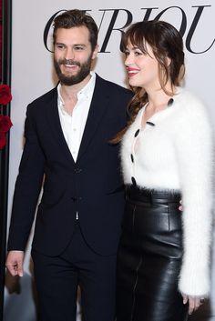 Jamie Dornan and Dakota Johnson light up the red carpet!