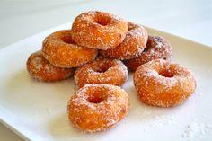 Kuih Keria (Sweet Potato Doughnuts)